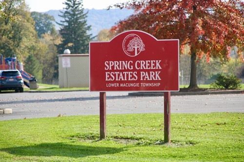 Spring Creek Estates sign